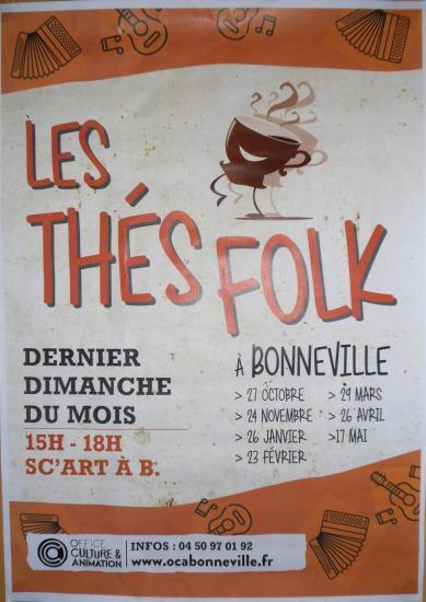 Affiche the folk bonneville 1